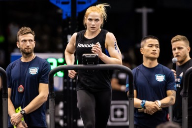Perennial Games athlete Annie Thorisdottir