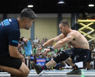 Ben Smith makes history, qualifies for his 10th consecutive CrossFit Games.