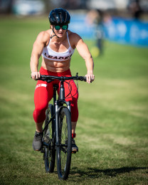 Tia-Clair Toomey during Bike Repeater