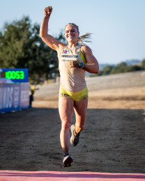 Katrin Davidsdottir takes first in Ranch Loop