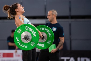 Jamie Greene dominated Day 2 with two event wins. She's in first overall.