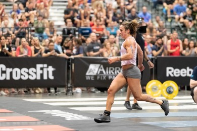 Kristi Eramo has a strong Day 1 showing, taking first and third.