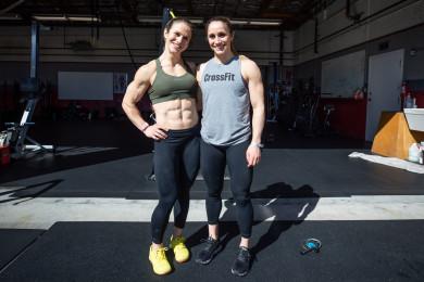 Kari Pearce and Kristi Eramo O'Connell
