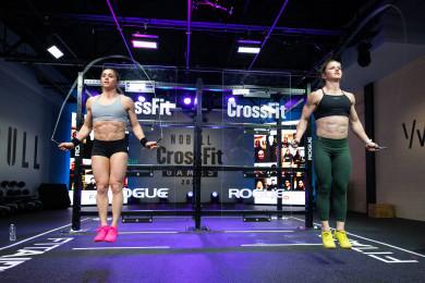 Kristi Eramo O'Connell and Kari Pearce during 21.1