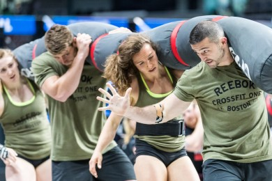Reebok CrossFit One earns an event win and jumps to third place on Day 2.