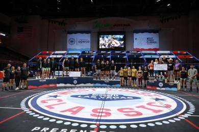 Podium Finishers WCC