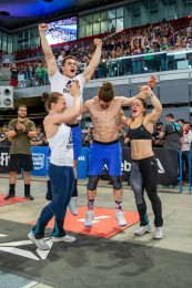 The crowd erupted in cheers when CrossFit Norte Redondela took the final spot on Sunday. The team will represent Spain at the Games.