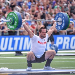 Rich Froning during 1RM Snatch