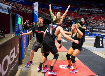 Schwartzs CrossFit Melbourne is in second with two second-place finishes on Day 1.