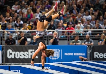 Tia-Clair Toomey continues to hold first place overall after two days of competition.