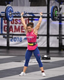 Tia-Clair Toomey during Clean and Jerk Speed Ladder