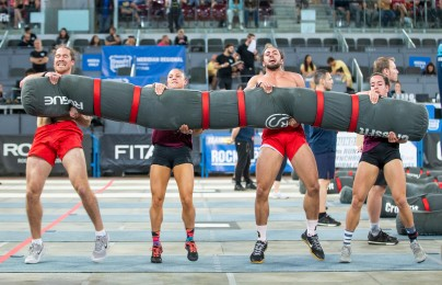 Cape CrossFit Wolfpack, now including Games veteran Rob Forte, took back-to-back first-place finishes on Day 1.