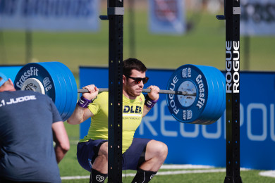 Jeffrey Adler during CrossFit Total
