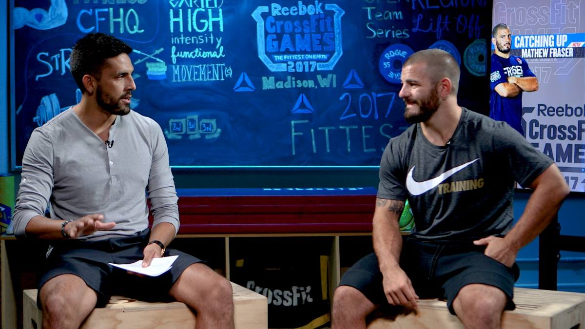 Update Studio Checking In With Mathew Fraser