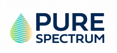 Pure Spectrum droplet logo.